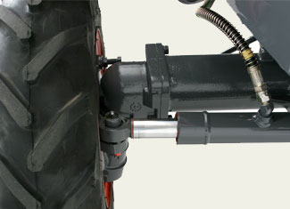 Heavy-Duty Front Axle