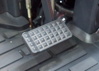 Suspended Clutch and Brake Pedals