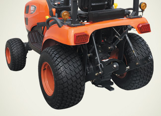 Rear PTO and 3-Point Hitch