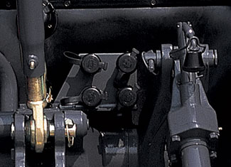 Sortie hydraulique