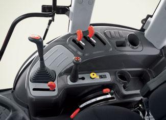 Commande par joystick à levier unique