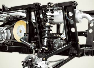 Adjustable Rear Suspension