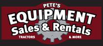 Pete's Equipment Sales Open House
