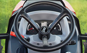 Adjustable Steering Wheel & Instrument Panel