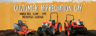 Little Tractor & Equipment Customer Appreciation Day