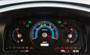 Illuminated Dashboard