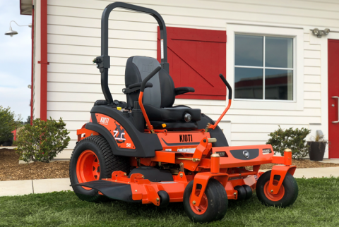 2019, Kioti, ZXC54 SE, Mower Implements