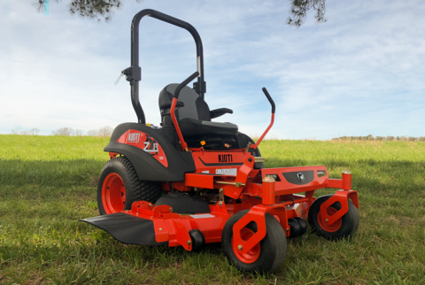 2019, Kioti, ZXR54 SE, Mower Implements