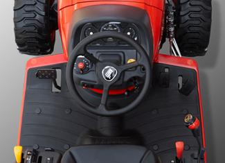 Poste de conduite ergonomique